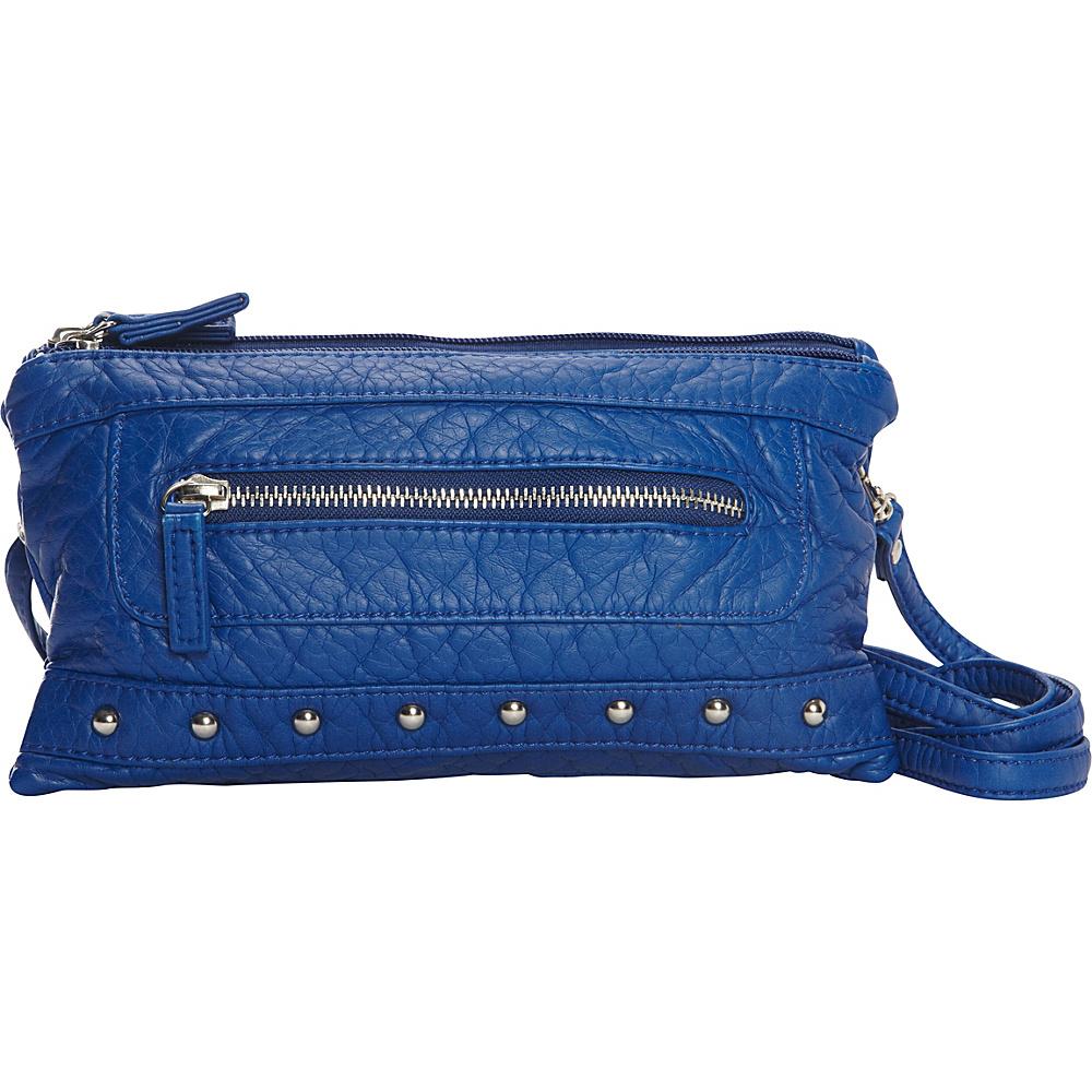 Ampere Creations Malie Three Way Bag Royal Blue Ampere Creations Manmade Handbags