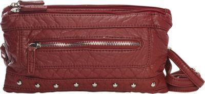 Ampere Creations Malie Three Way Bag Burgundy - Ampere Creations Women's Wallets
