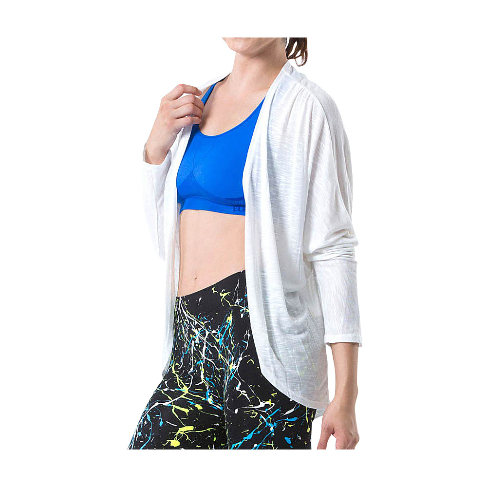 Electric Yoga Open Cardigan S White Electric Yoga Men s Apparel