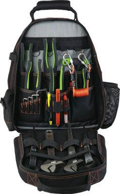 Ergodyne 5843 Tool Backpack Dual Compartment Black - Ergodyne Other Sports Bags