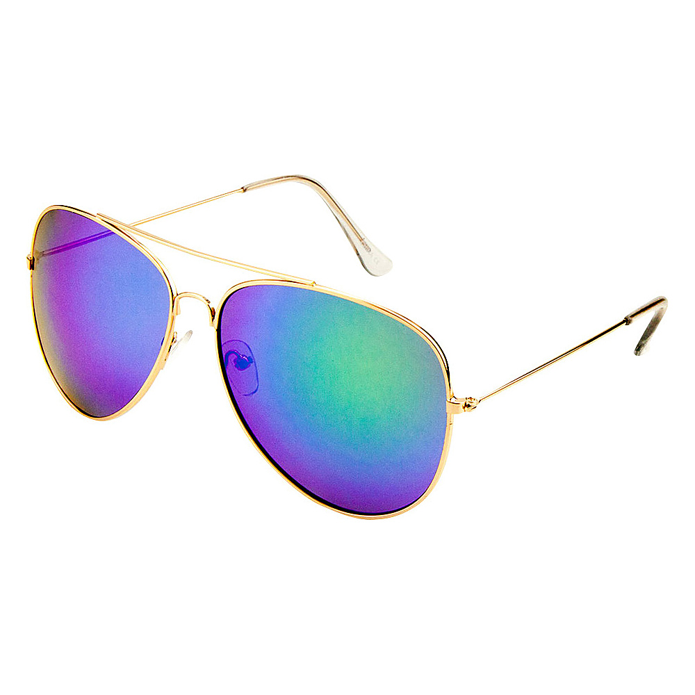 SW Global Eyewear Juan Double Bridge Aviator Fashion Sunglasses Green - SW Global Sunglasses - Fashion Accessories, Sunglasses