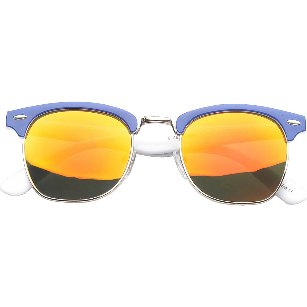 SW Global Eyewear Ortonville Soho Fashion Sunglasses Blue - SW Global Sunglasses - Fashion Accessories, Sunglasses