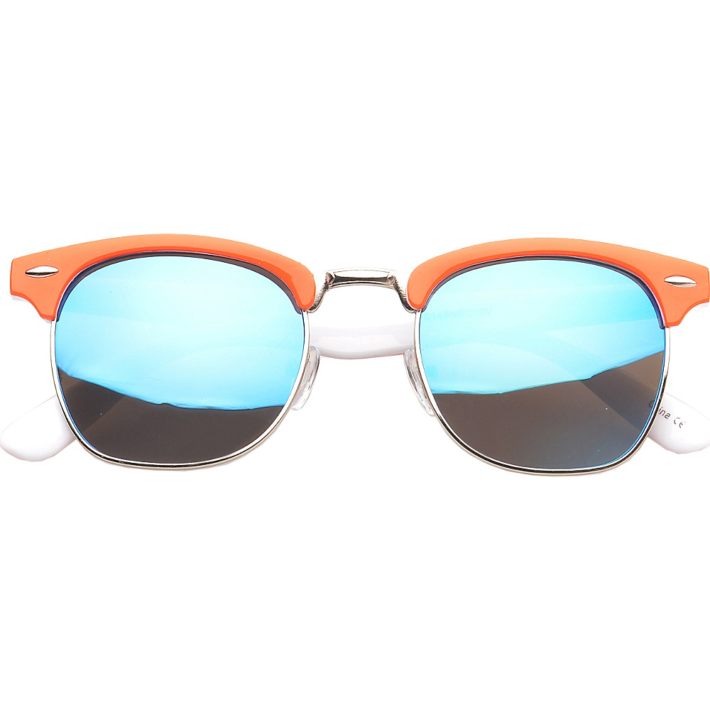 SW Global Eyewear Ortonville Soho Fashion Sunglasses Orange - SW Global Sunglasses - Fashion Accessories, Sunglasses