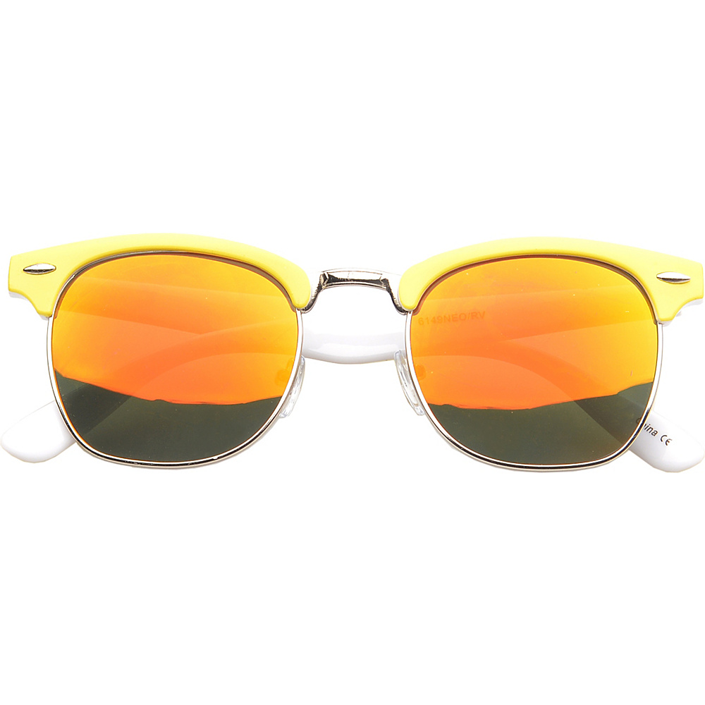 SW Global Eyewear Ortonville Soho Fashion Sunglasses Yellow - SW Global Sunglasses - Fashion Accessories, Sunglasses