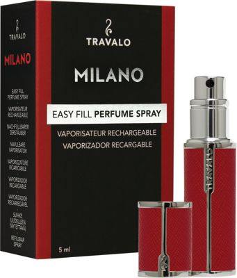 Travalo Milano Refillable Perfume Bottle Red - Travalo Travel Health & Beauty