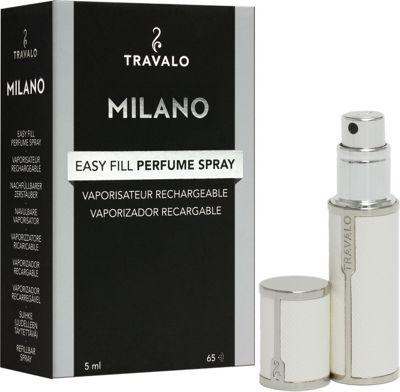 Travalo Milano Refillable Perfume Bottle White - Travalo Travel Health & Beauty