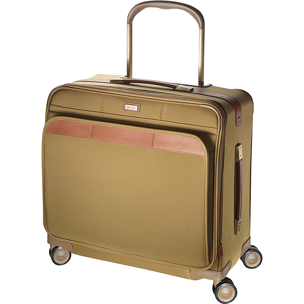 Hartmann Luggage Ratio Classic Deluxe Medium Journey Expandable Glider Safari Hartmann Luggage Softside Checked