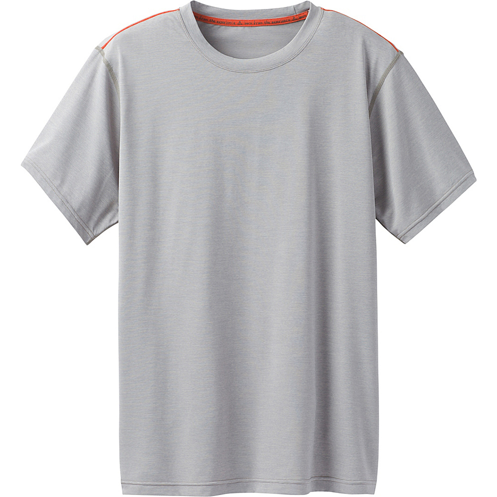 PrAna Calder Short Sleeve Shirt XL - Grey - PrAna Mens Apparel - Apparel & Footwear, Men's Apparel