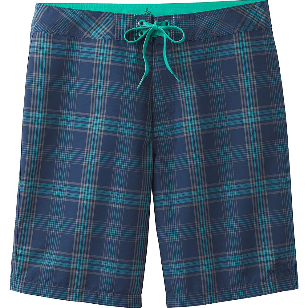 PrAna El Porto Shorts 32 - Blue - PrAna Mens Apparel - Apparel & Footwear, Men's Apparel