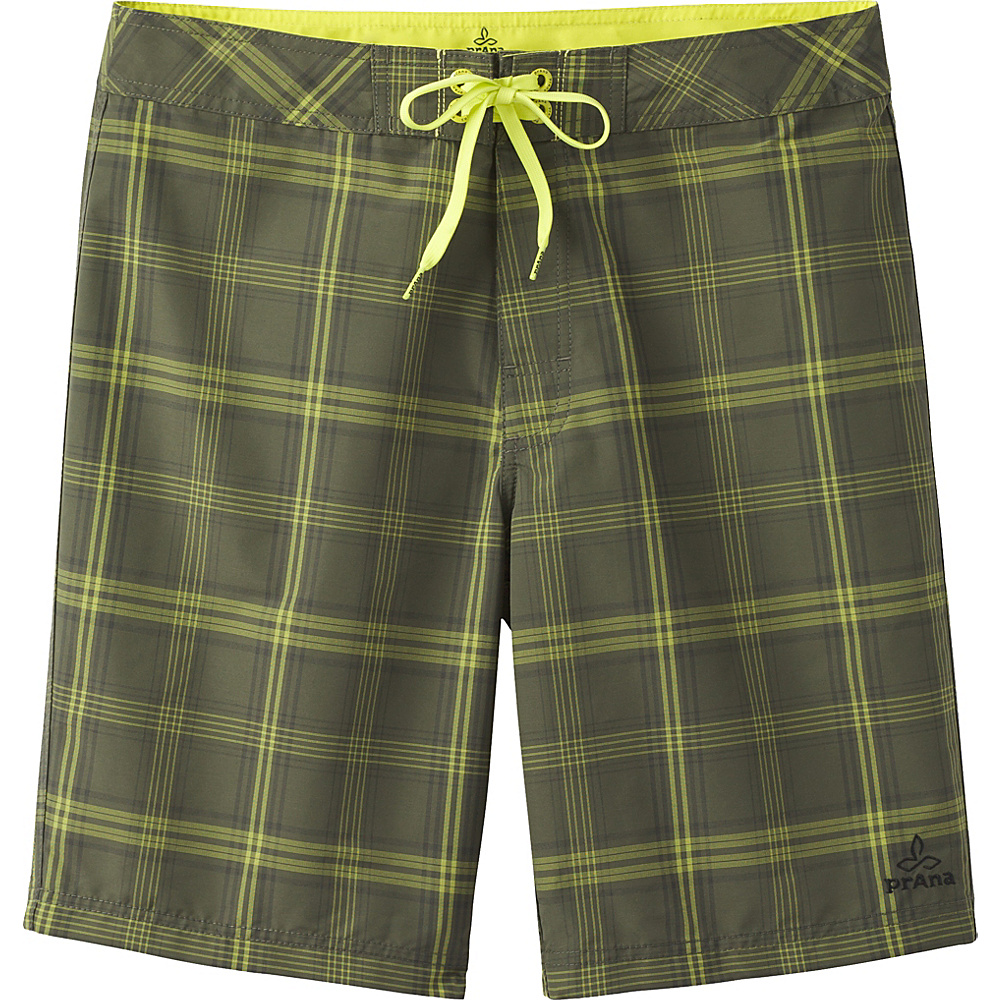PrAna El Porto Shorts 30 - Cargo Green - PrAna Mens Apparel - Apparel & Footwear, Men's Apparel