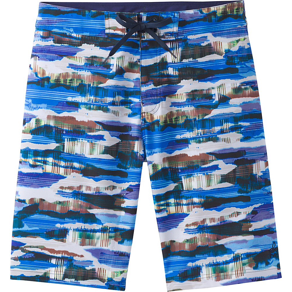 PrAna Sediment Shorts 30 - Vortex Blue Indian Summer - PrAna Mens Apparel - Apparel & Footwear, Men's Apparel