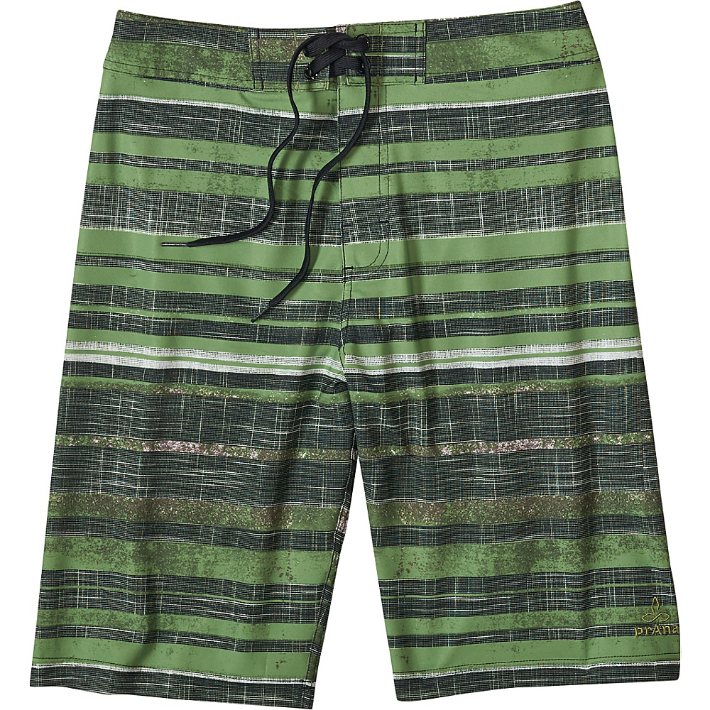 PrAna Sediment Shorts 30 - Sour Apple - PrAna Mens Apparel - Apparel & Footwear, Men's Apparel