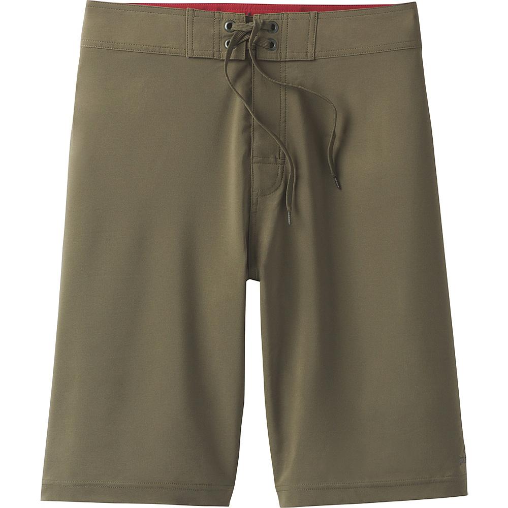 PrAna Sediment Shorts 35 - Cargo Green - PrAna Mens Apparel - Apparel & Footwear, Men's Apparel