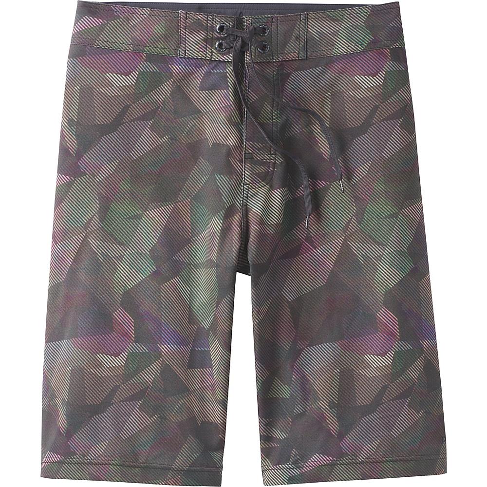 PrAna Sediment Shorts 32 - Green Hex - PrAna Mens Apparel - Apparel & Footwear, Men's Apparel