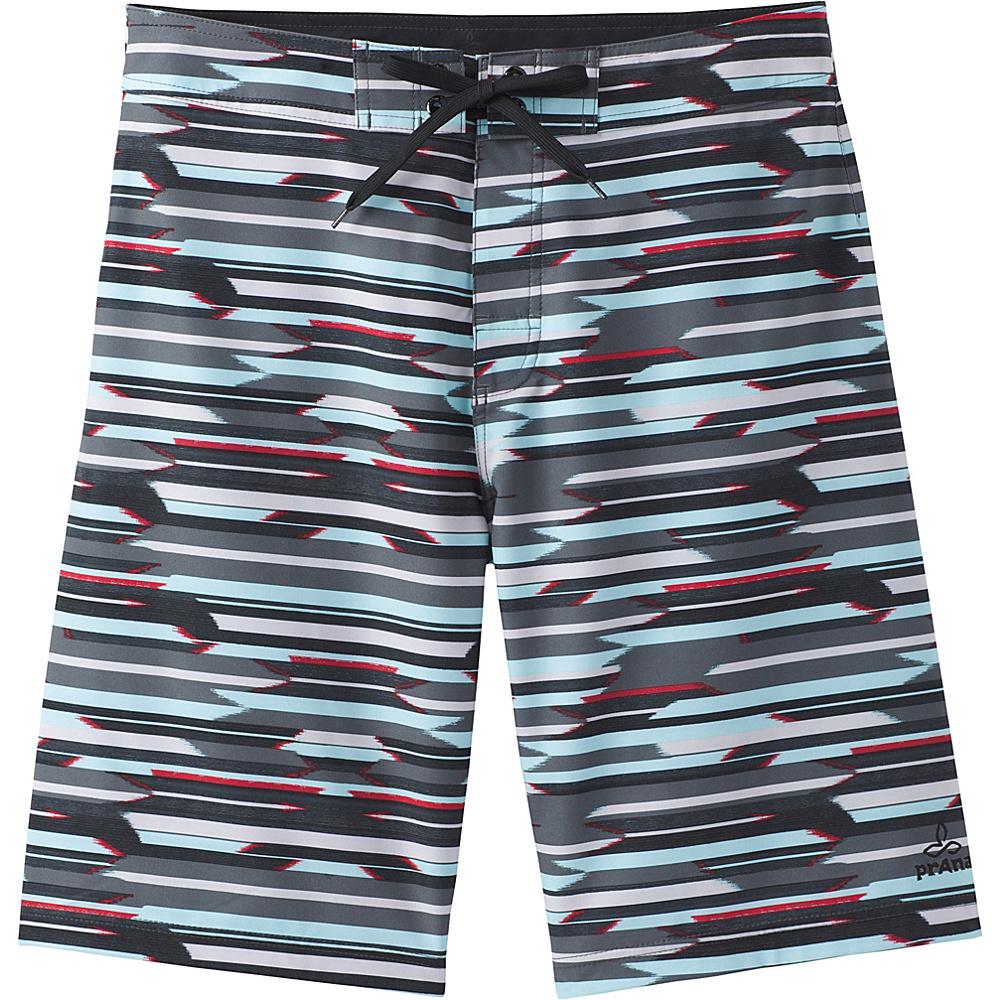 PrAna Sediment Shorts 32 - Aquamarine Playa - PrAna Mens Apparel - Apparel & Footwear, Men's Apparel