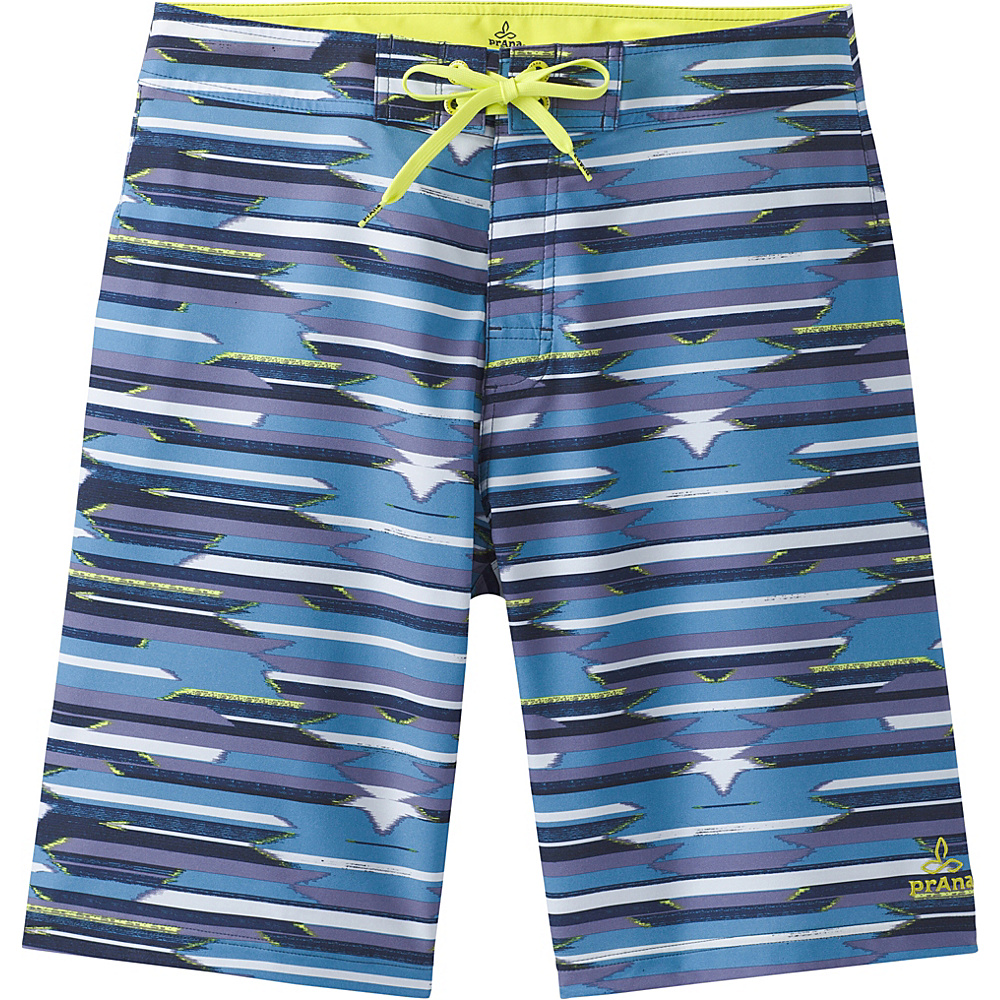 PrAna Sediment Shorts 34 - Dusky Skies Playa - PrAna Mens Apparel - Apparel & Footwear, Men's Apparel