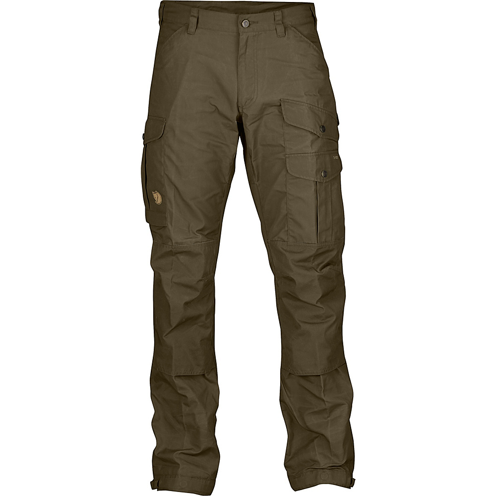 Fjallraven Vidda Pro Trousers Long 44 - Dark Olive - Fjallraven Womens Apparel - Apparel & Footwear, Women's Apparel