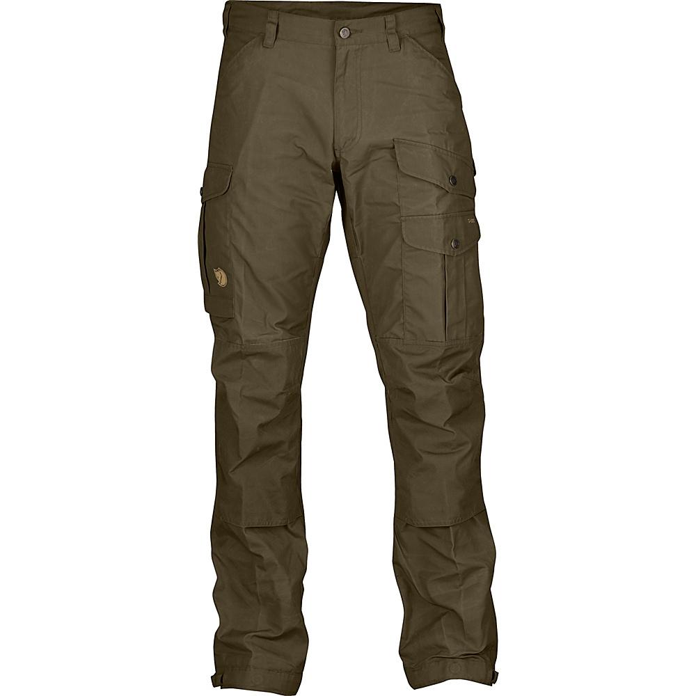 Fjallraven Vidda Pro Trousers Long 46 - Dark Olive - Fjallraven Womens Apparel - Apparel & Footwear, Women's Apparel