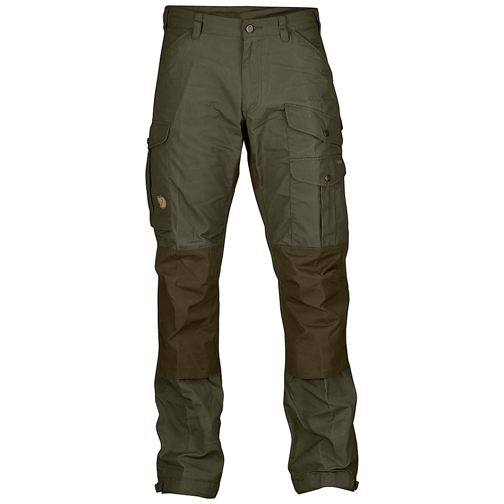 Fjallraven Vidda Pro Trousers Long 50 - Dark Olive - Fjallraven Womens Apparel - Apparel & Footwear, Women's Apparel