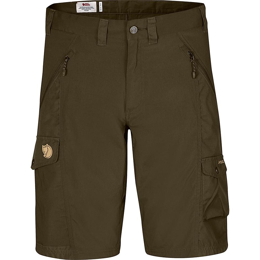 Fjallraven Abisko Shorts 46 - Dark Olive - Fjallraven Mens Apparel - Apparel & Footwear, Men's Apparel