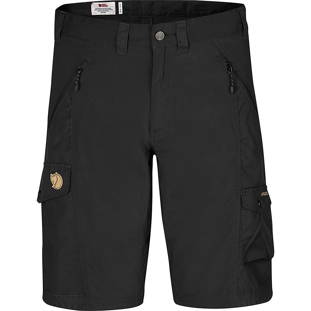 Fjallraven Abisko Shorts 46 - Black - 34 - Fjallraven Mens Apparel - Apparel & Footwear, Men's Apparel