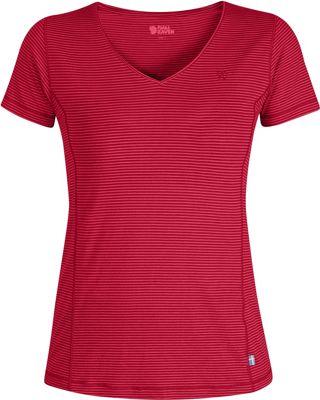 Image of Fjallraven Womens Abisko Cool T-Shirt XXS - Coral - XXSmall - Fjallraven Women's Apparel