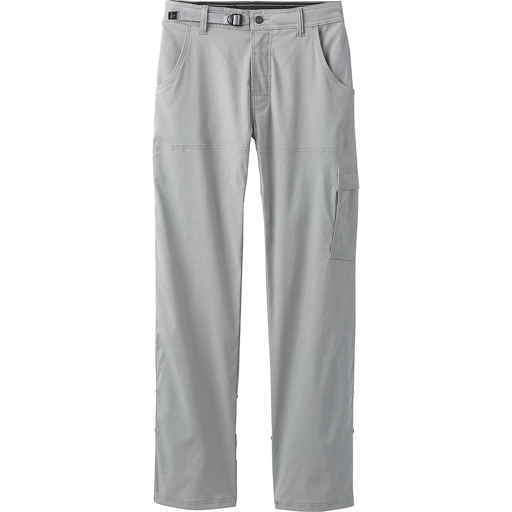 PrAna Stretch Zion Pants - 32 Inseam 36 - Grey - PrAna Mens Apparel - Apparel & Footwear, Men's Apparel