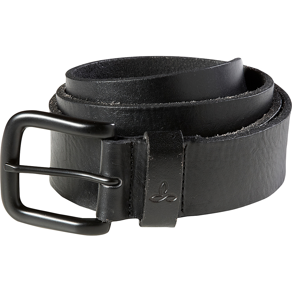 PrAna Mens Belt Black - Large/XLarge - PrAna Other Fashion Accessories - Fashion Accessories, Other Fashion Accessories
