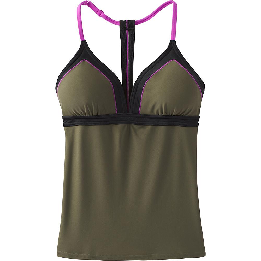 PrAna Aleka Tankini XL - Cargo Green - PrAna Womens Apparel - Apparel & Footwear, Women's Apparel