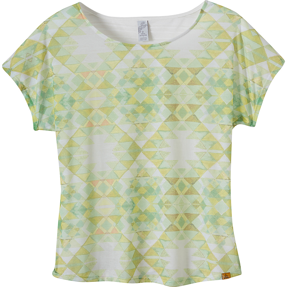 PrAna Harlene Top XL - Citronette - PrAna Womens Apparel - Apparel & Footwear, Women's Apparel