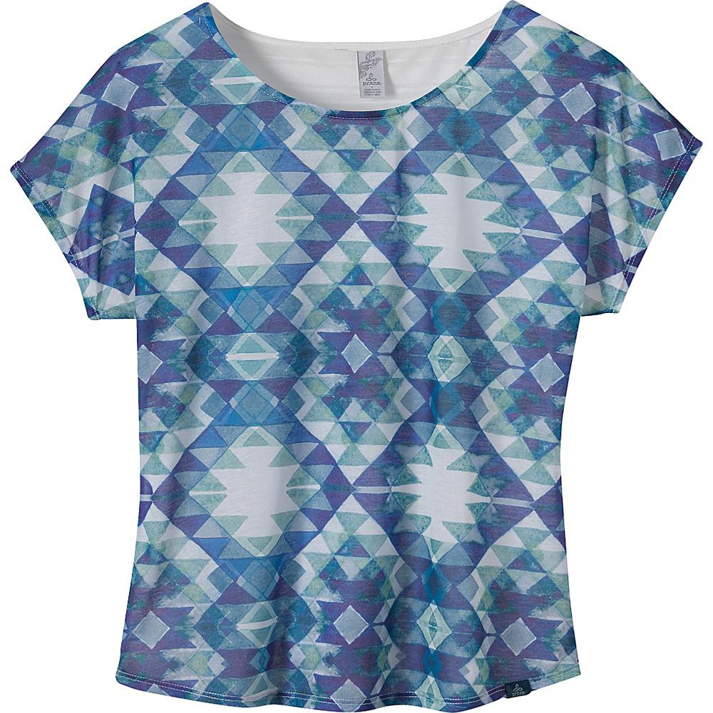 PrAna Harlene Top XS - Blue Ridge - PrAna Womens Apparel - Apparel & Footwear, Women's Apparel