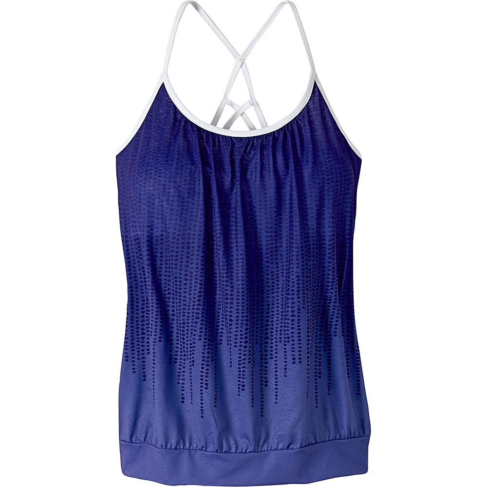 PrAna Meadow Top XS - Indigo Cascade - PrAna Womens Apparel - Apparel & Footwear, Women's Apparel