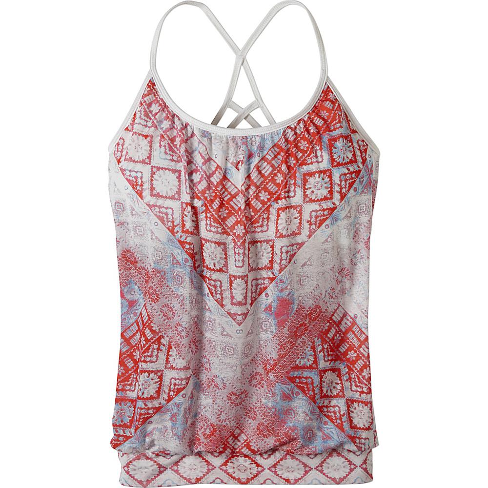 PrAna Meadow Top XL - Sunwashed Red - PrAna Womens Apparel - Apparel & Footwear, Women's Apparel