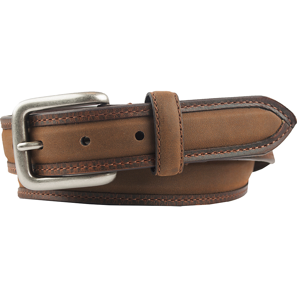 Columbia 32MM Non Reversible with Padded Inlay and Columbia Logo Brown 32 Columbia Other Fashion Accessories