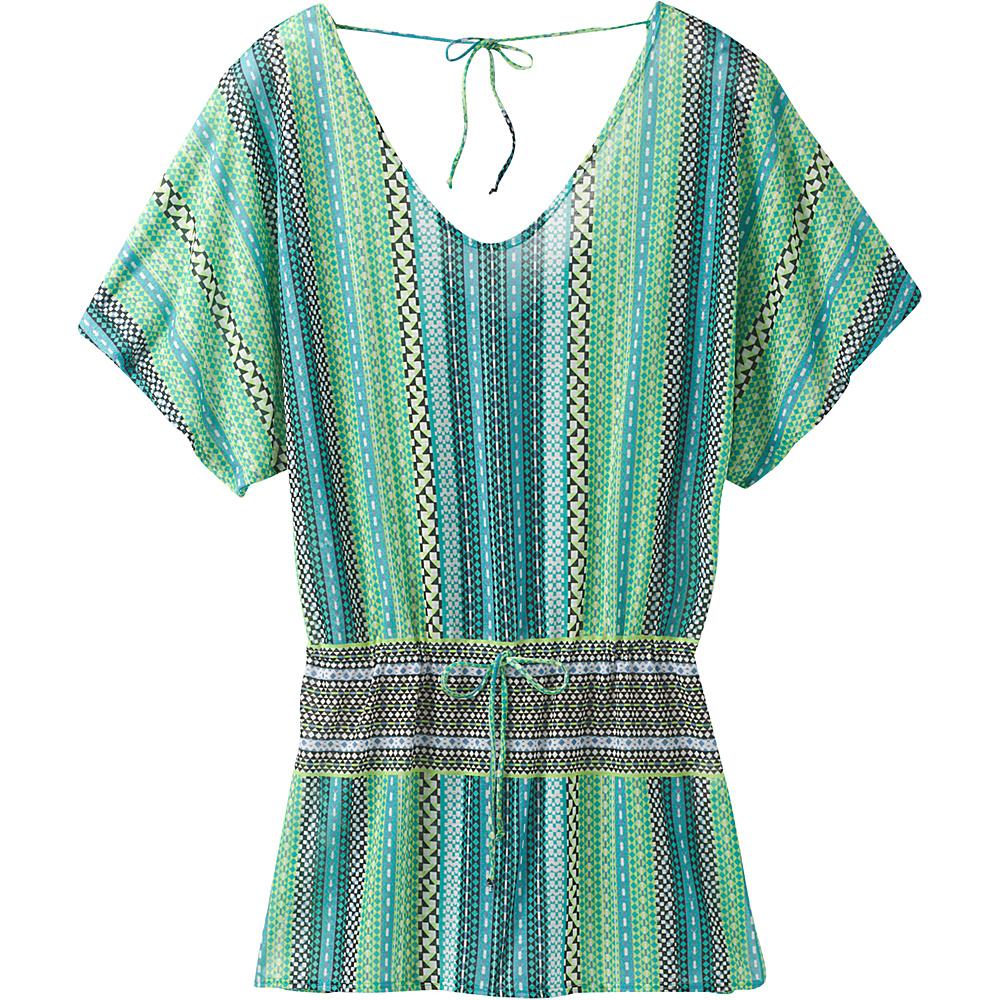 PrAna Saida Kaftan XL - Emerald Carnivale - PrAna Womens Apparel - Apparel & Footwear, Women's Apparel