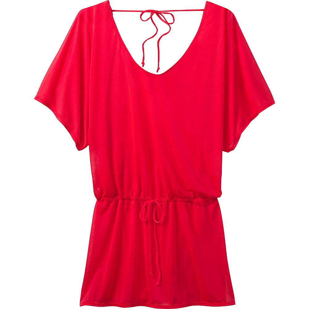 PrAna Saida Kaftan XS - Carmine Pink - PrAna Womens Apparel - Apparel & Footwear, Women's Apparel