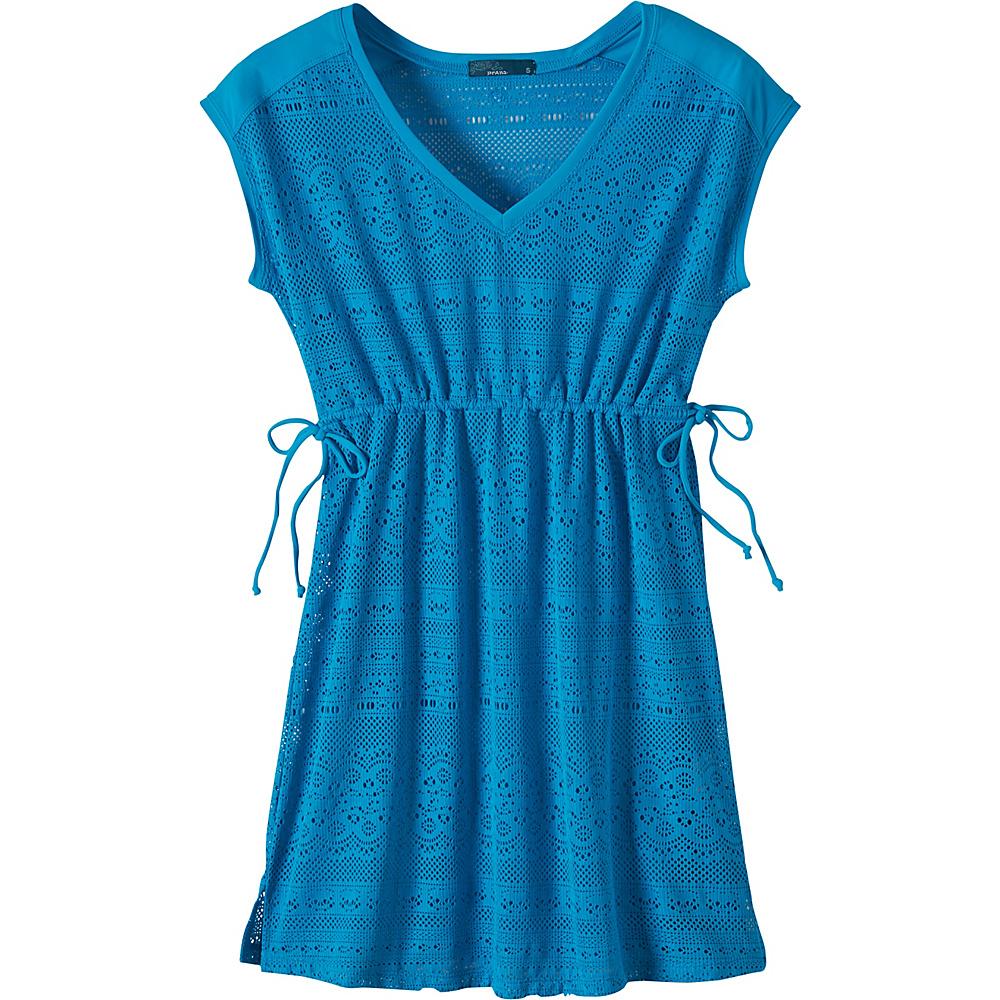 PrAna Elliot Dress M - Vivid Blue - PrAna Womens Apparel - Apparel & Footwear, Women's Apparel