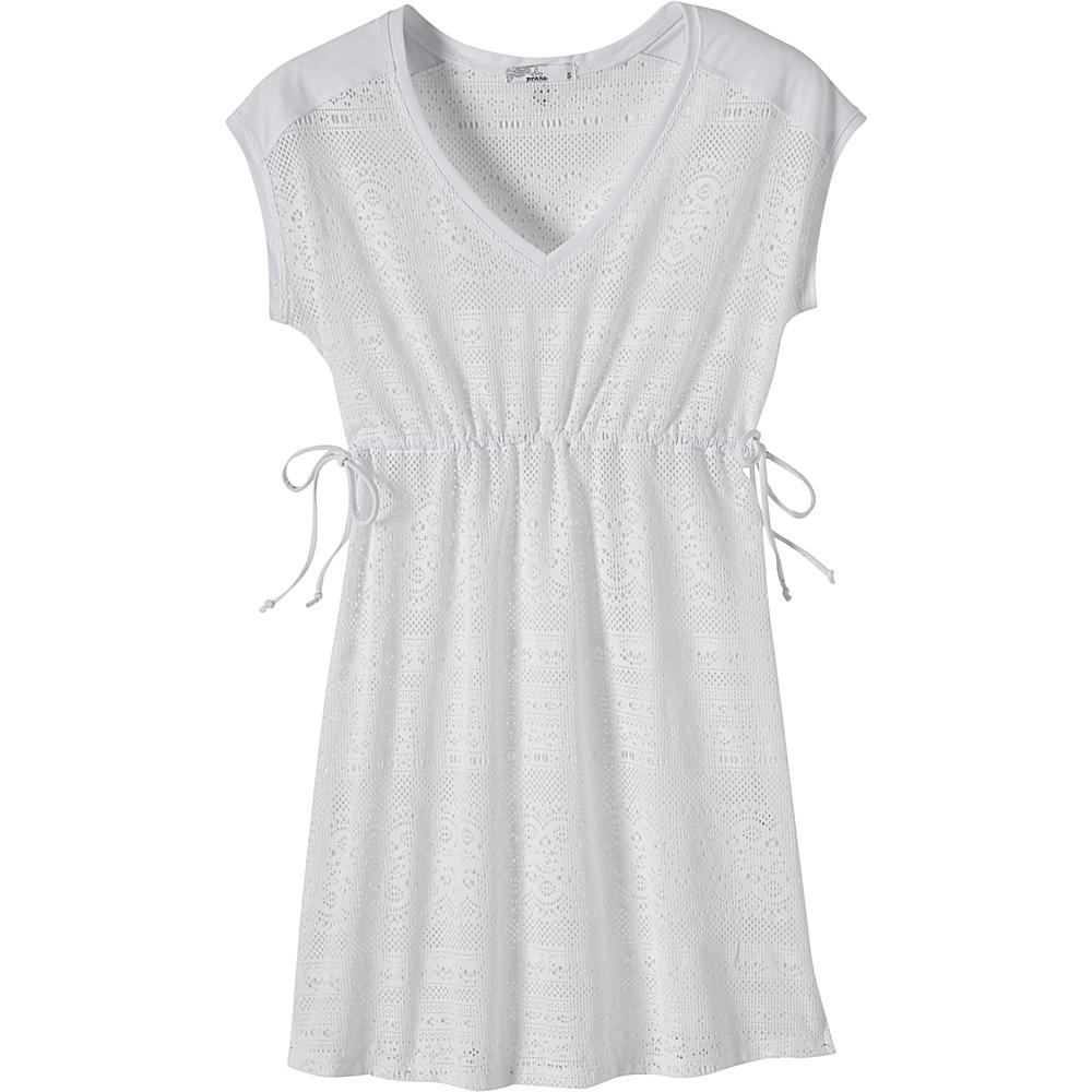 PrAna Elliot Dress XL - White - PrAna Womens Apparel - Apparel & Footwear, Women's Apparel