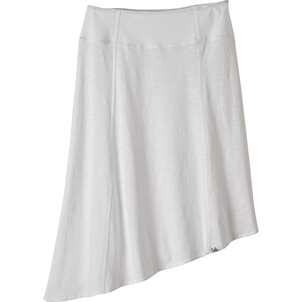 PrAna Jacinta Skirt L - White - PrAna Womens Apparel - Apparel & Footwear, Women's Apparel