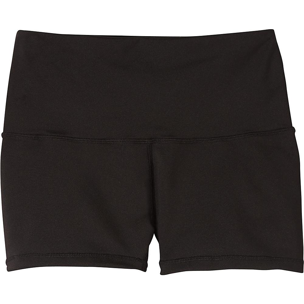 PrAna Luminate Short M - Black - PrAna Womens Apparel - Apparel & Footwear, Women's Apparel