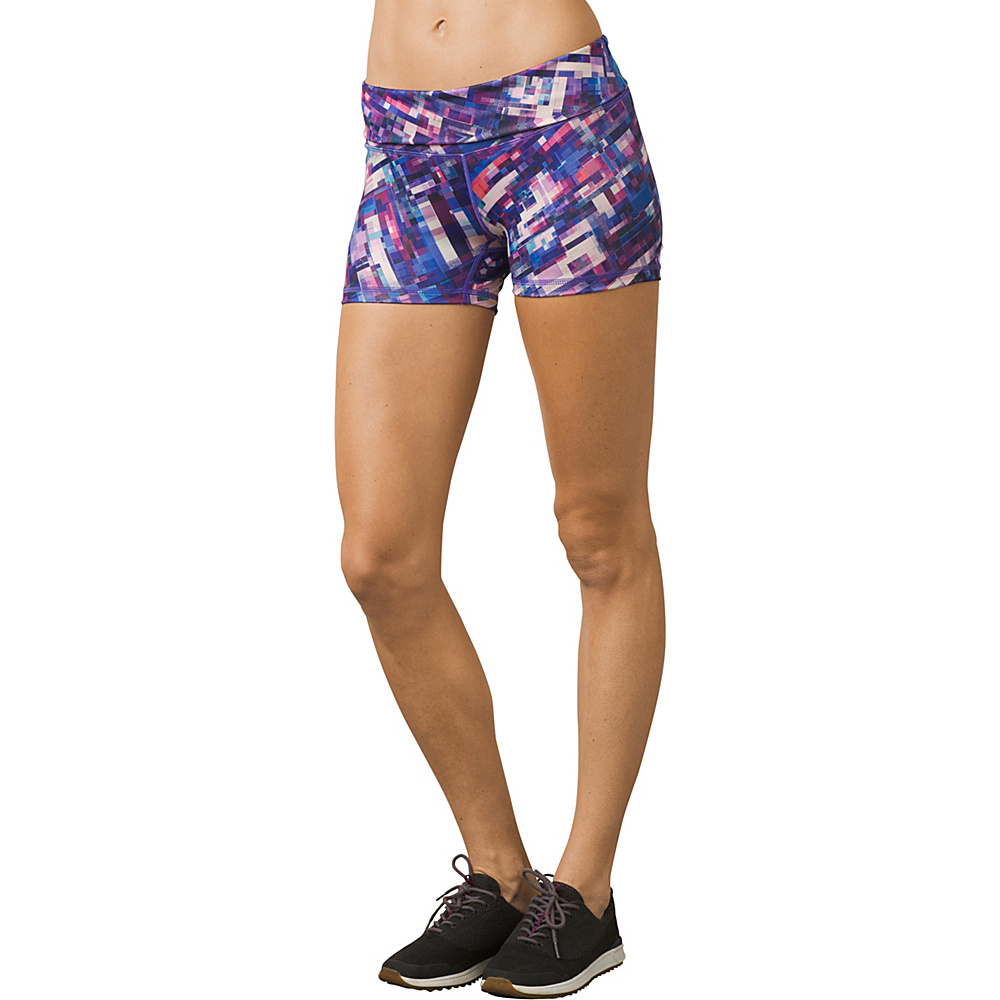 PrAna Luminate Short XL - Supernova Fractal - PrAna Womens Apparel - Apparel & Footwear, Women's Apparel
