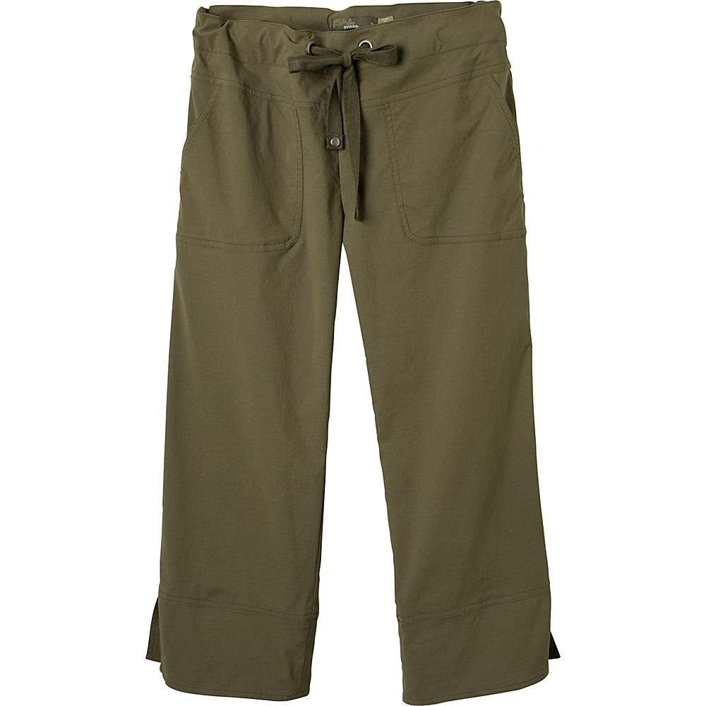 PrAna Bliss Capri S - Cargo Green - PrAna Womens Apparel - Apparel & Footwear, Women's Apparel