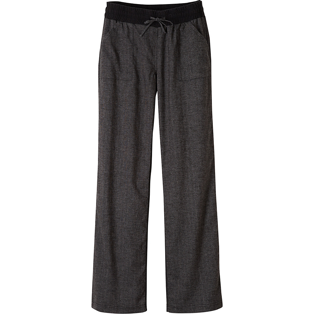 PrAna Mantra Pants L - Black Herringbone - PrAna Womens Apparel - Apparel & Footwear, Women's Apparel