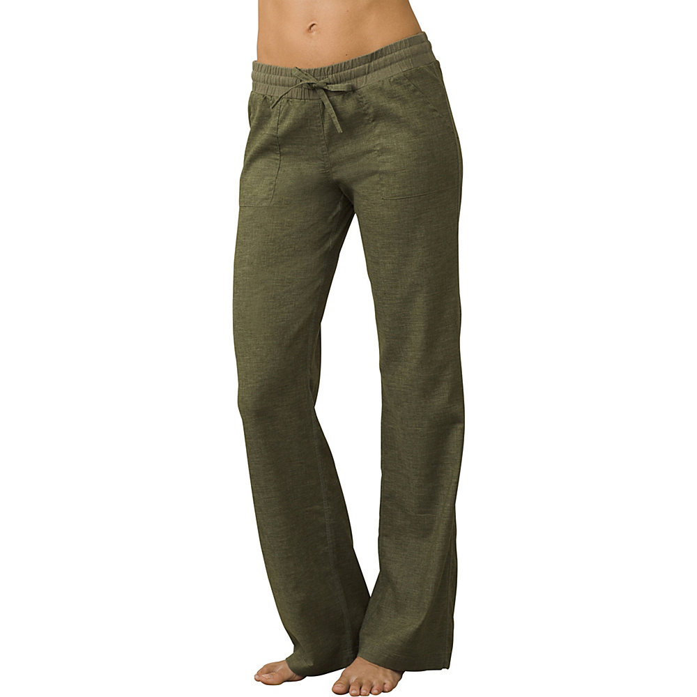PrAna Mantra Pants L - Cargo Green - PrAna Womens Apparel - Apparel & Footwear, Women's Apparel