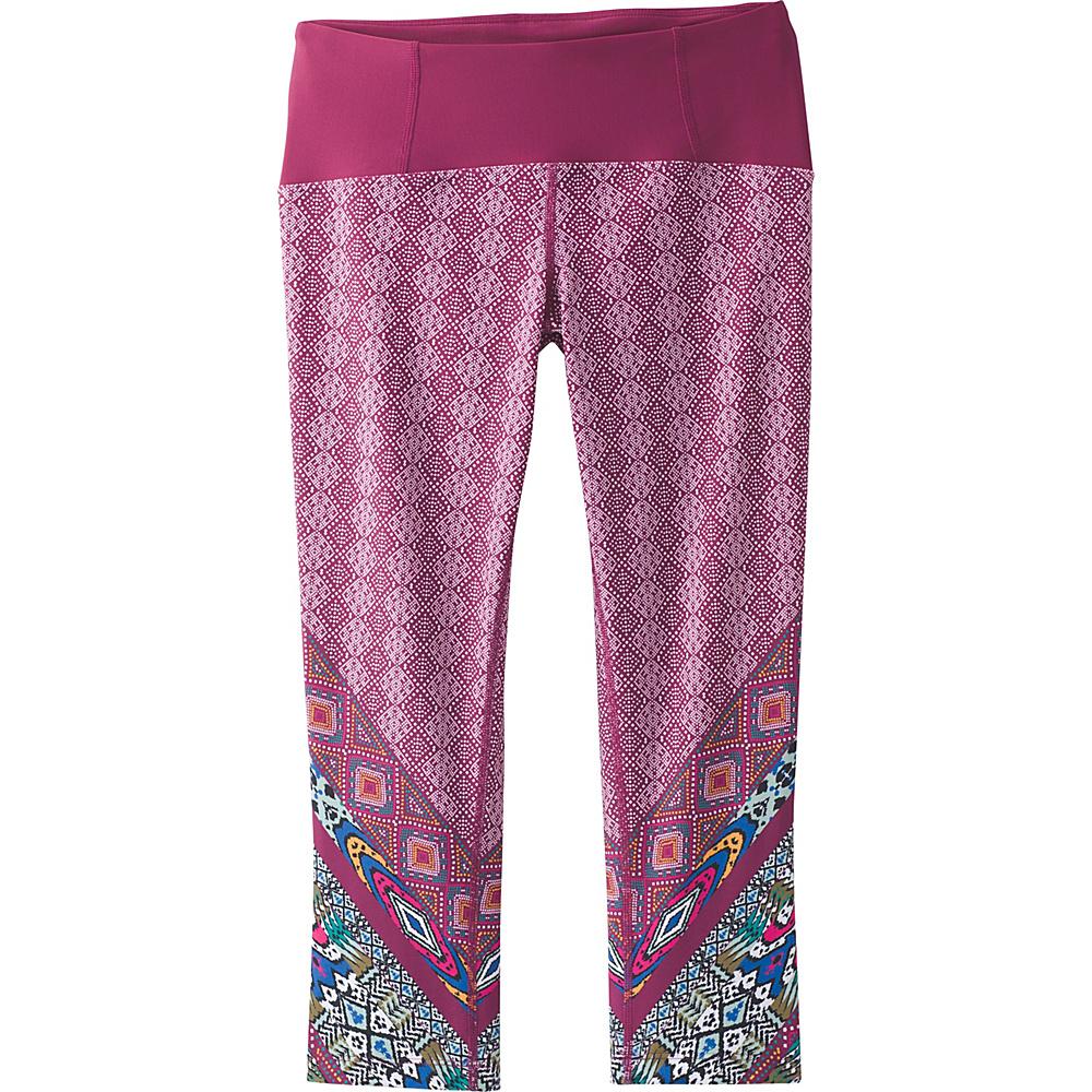 PrAna Rai Swim Tight S - Pomegranate Marrakesh - PrAna Womens Apparel - Apparel & Footwear, Women's Apparel