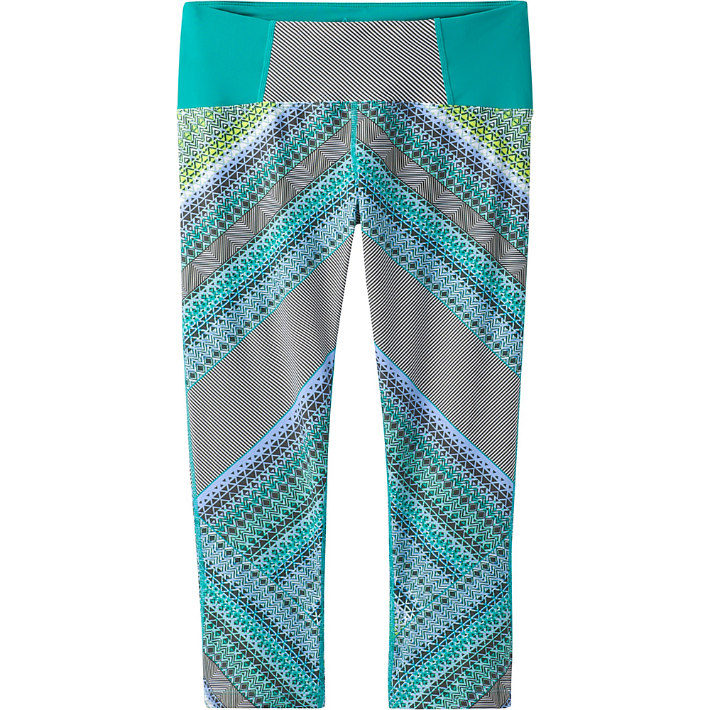 PrAna Rai Swim Tight XS - Emerald Riviera - PrAna Womens Apparel - Apparel & Footwear, Women's Apparel