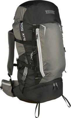 Wenzel Wenzel Flux 50L Backpack Grey - Wenzel Day Hiking Backpacks