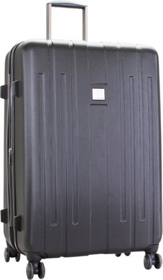 Calvin Klein Luggage Cortlandt 3.0 28 Upright Hardside Spinner Black - Calvin Klein Luggage Hardside Checked