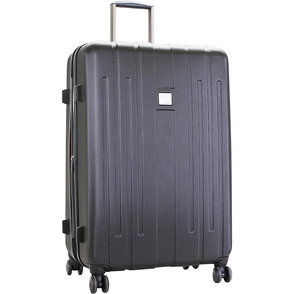 Calvin Klein Luggage Cortlandt 3.0 28 Upright Hardside Spinner Black Calvin Klein Luggage Hardside Checked