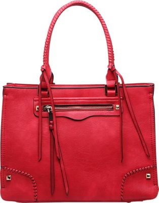 MKF Collection by Mia K. Farrow Minnie Shoulder Bag Red - MKF Collection by Mia K. Farrow Manmade Handbags